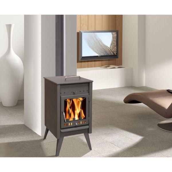 mod le poele a bois 5 kw maxi. Black Bedroom Furniture Sets. Home Design Ideas