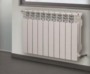 radiateur a eau en fonte d'aluminium