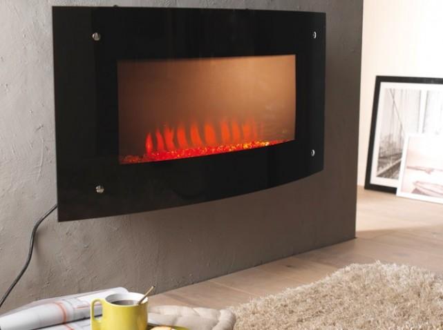 cheminee moderne castorama