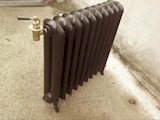 radiateur fonte lisse