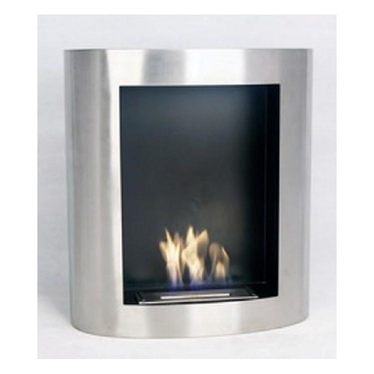 photo cheminee bio ethanol inox. Black Bedroom Furniture Sets. Home Design Ideas