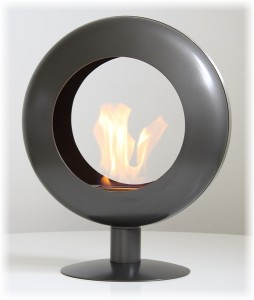 achat cheminee bio ethanol sur pied. Black Bedroom Furniture Sets. Home Design Ideas