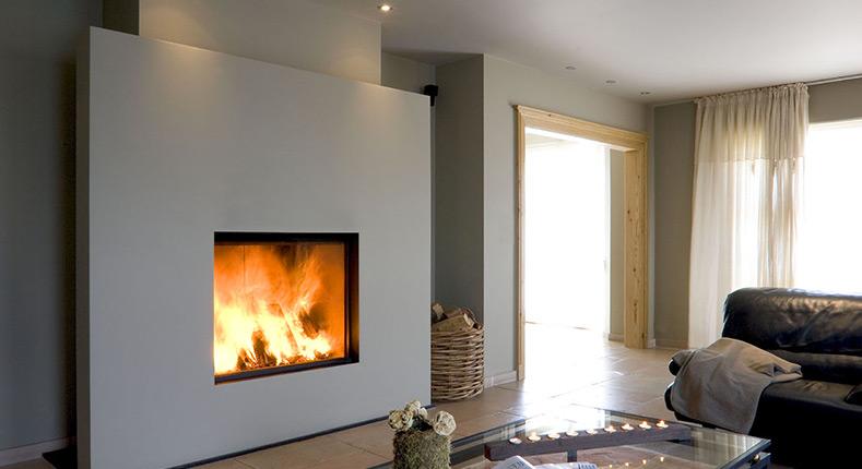 Photo cheminee insert gaz - Chauffage moins cher pour maison ...