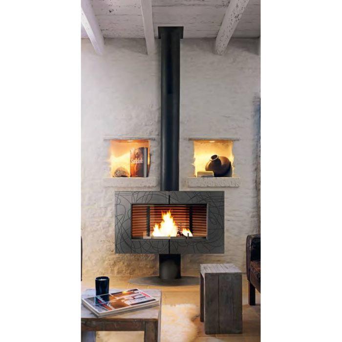 insert cheminee pas cher. Black Bedroom Furniture Sets. Home Design Ideas