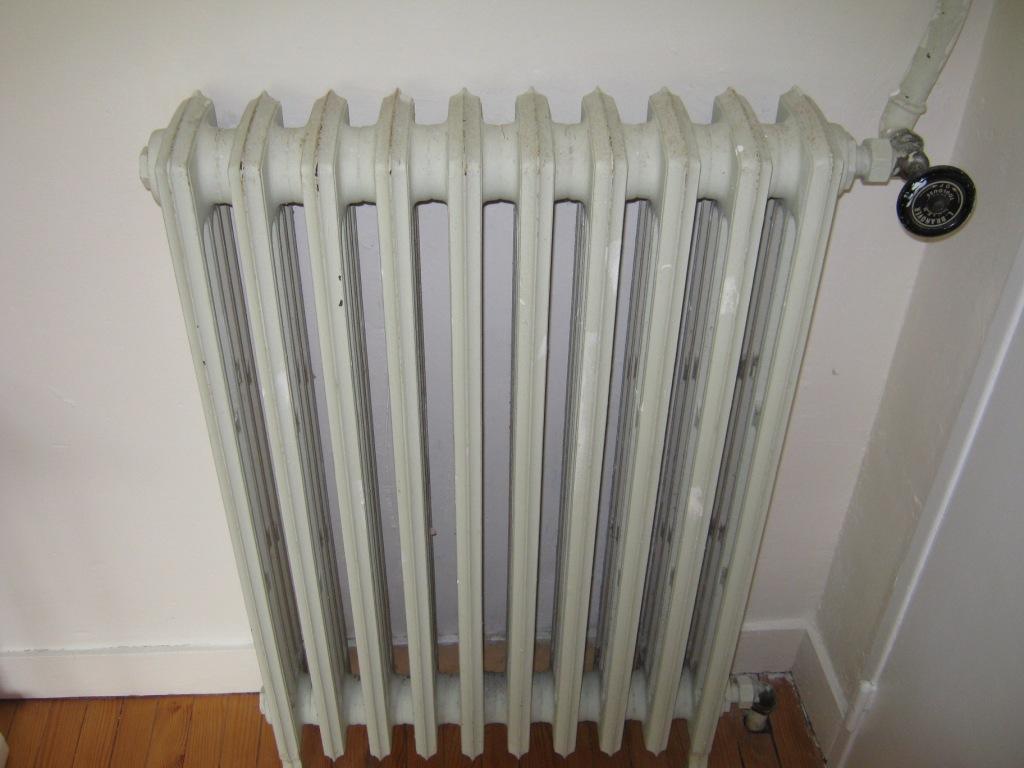 prix radiateur fonte gaz de ville