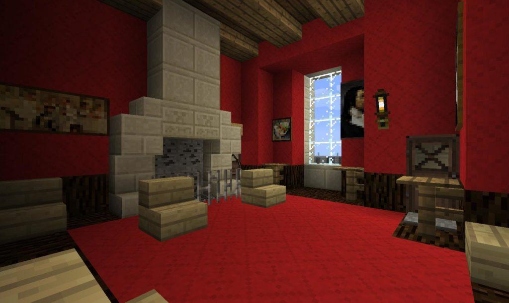 Achat Cheminee Moderne Minecraft