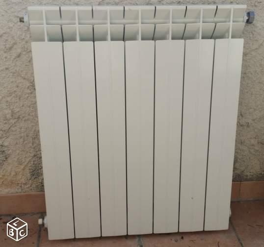Exemple radiateur fonte d 39 aluminium faral for Radiateur fonte electrique