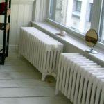 radiateur eau fonte