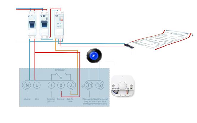 remplacer thermostat radiateur electrique best domotique partie piloter son chauffage lectrique. Black Bedroom Furniture Sets. Home Design Ideas