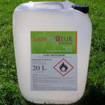 cheminee bio ethanol odeur