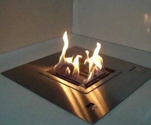 cheminee ethanol afire