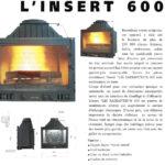 cheminee philippe insert 600