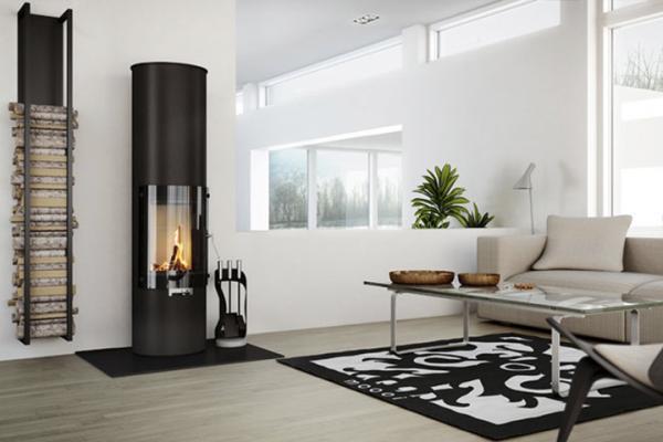 photo poele a bois cylindrique. Black Bedroom Furniture Sets. Home Design Ideas