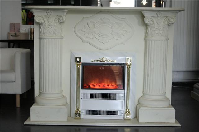 cheminee electrique baroque