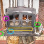 cheminee insert avec ventilateur