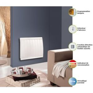 photo radiateur electrique noirot calidou plus. Black Bedroom Furniture Sets. Home Design Ideas