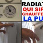 radiateur fonte qui siffle