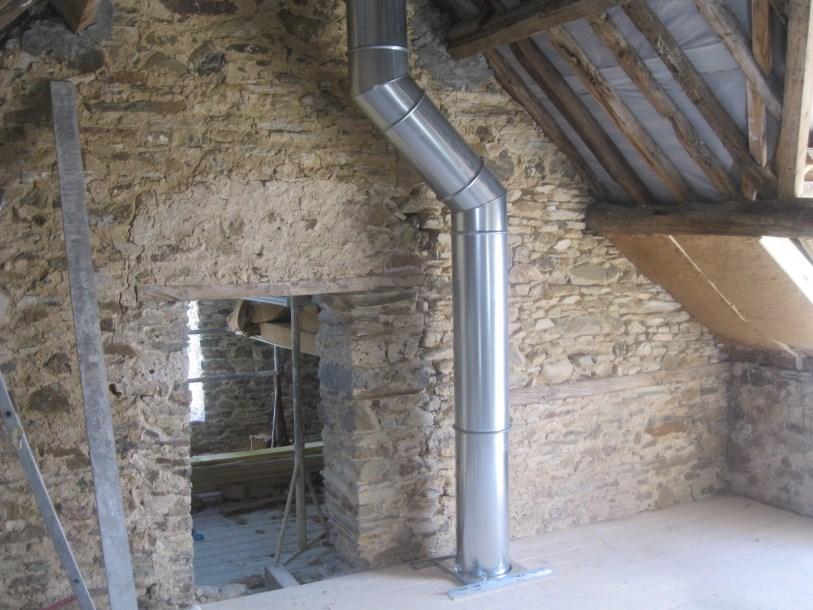 Photo cheminee insert securite - Tuyau pour insert cheminee ...