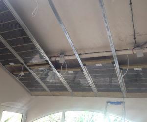 panneau rayonnant pour plafond suspendu