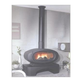 photo poele a bois 80 cm. Black Bedroom Furniture Sets. Home Design Ideas