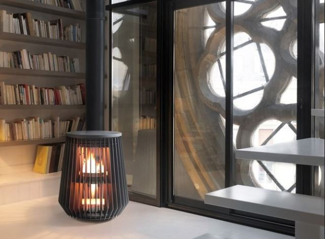 photo poele a bois en fonte leroy merlin. Black Bedroom Furniture Sets. Home Design Ideas