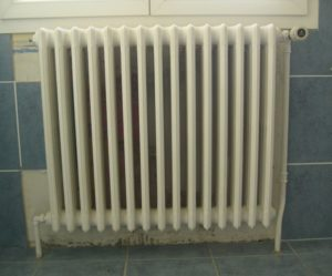 radiateur fonte demontage