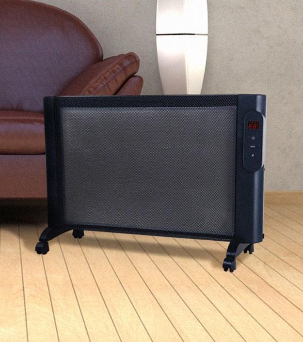 photo radiateur rayonnant mobile mica. Black Bedroom Furniture Sets. Home Design Ideas