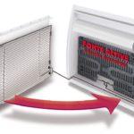 radiateur electrique double corps de chauffe